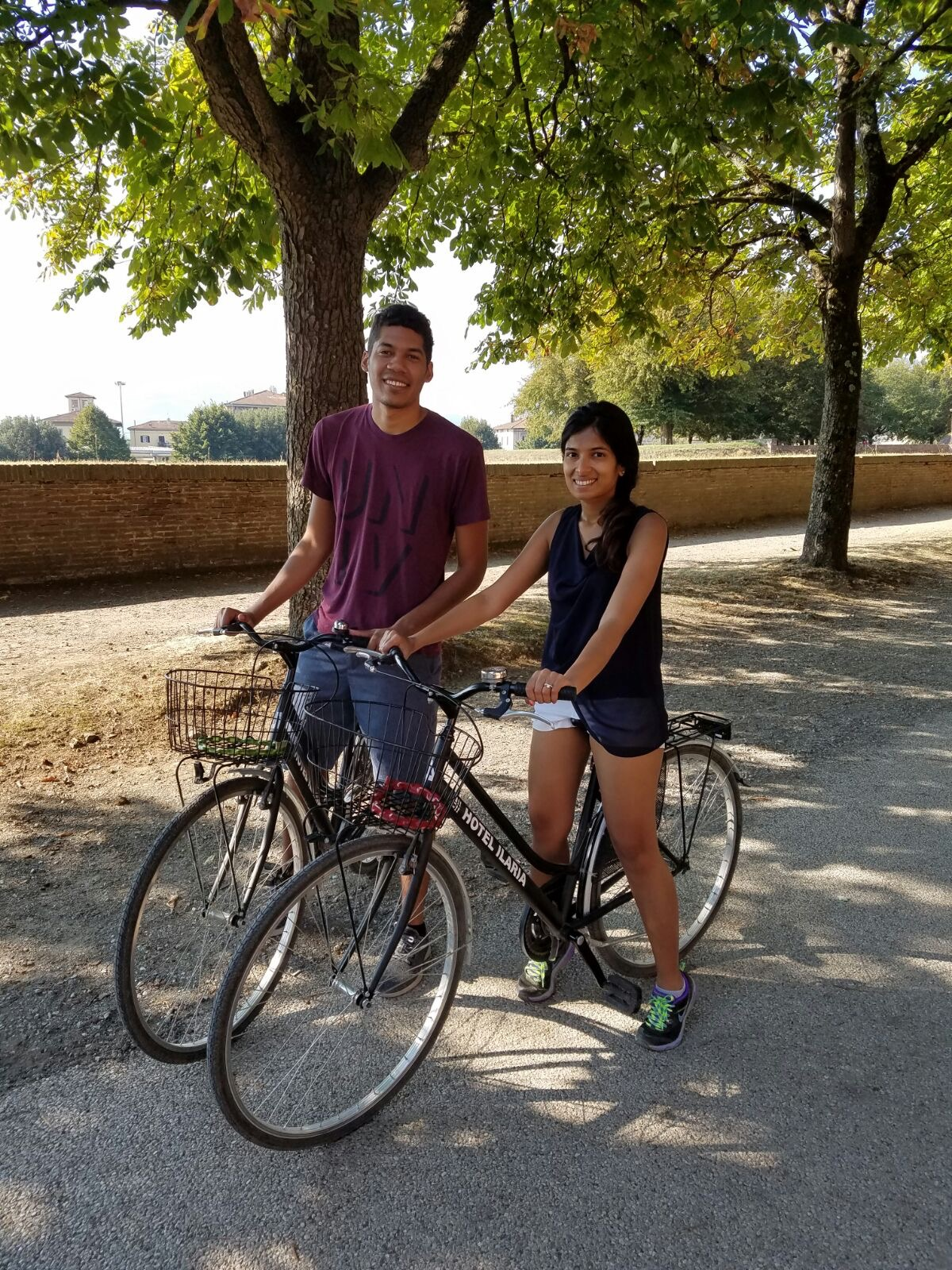 A Day in Lucca on a Tuscan Honeymoon