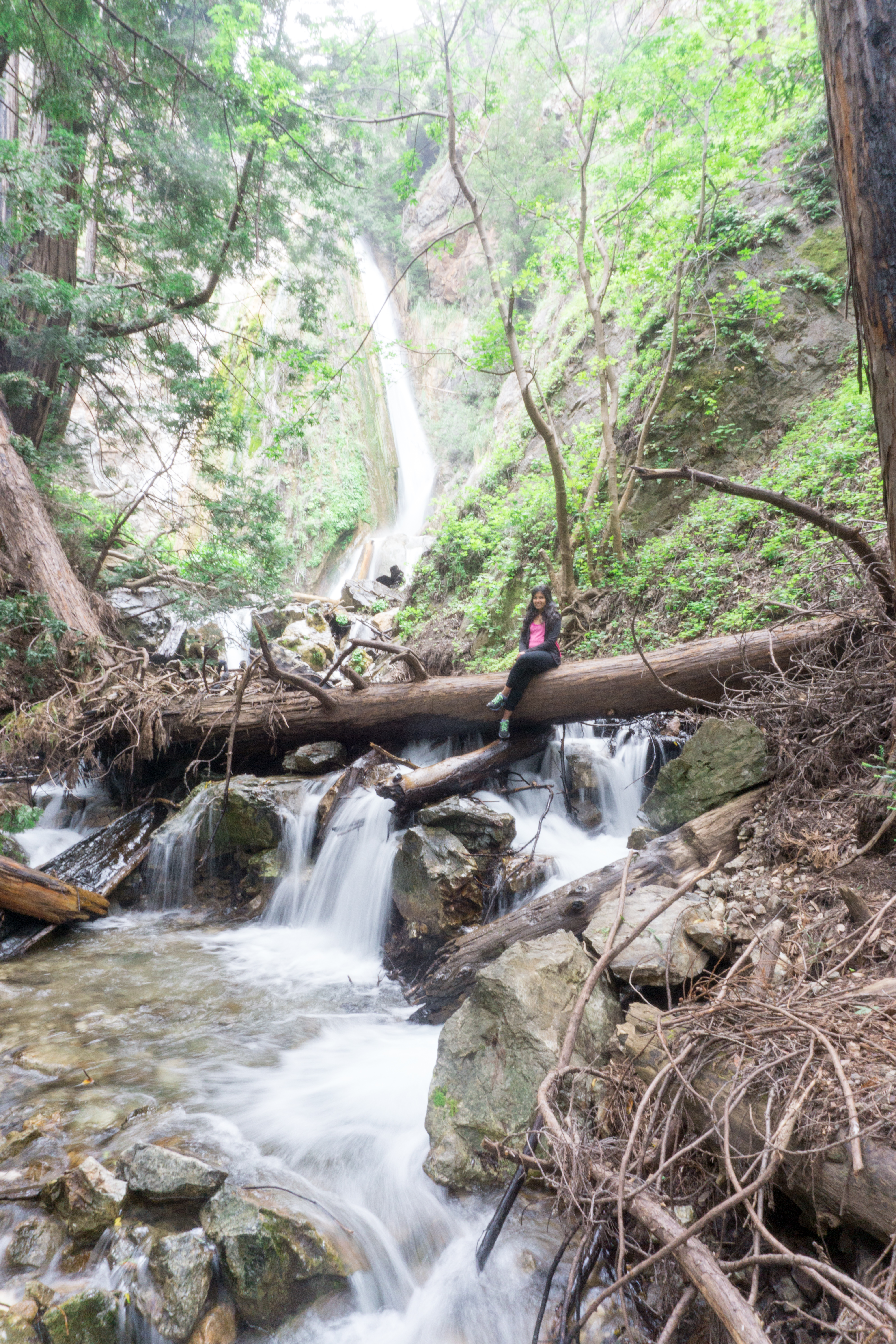 Limekiln Falls hike in Big Sur