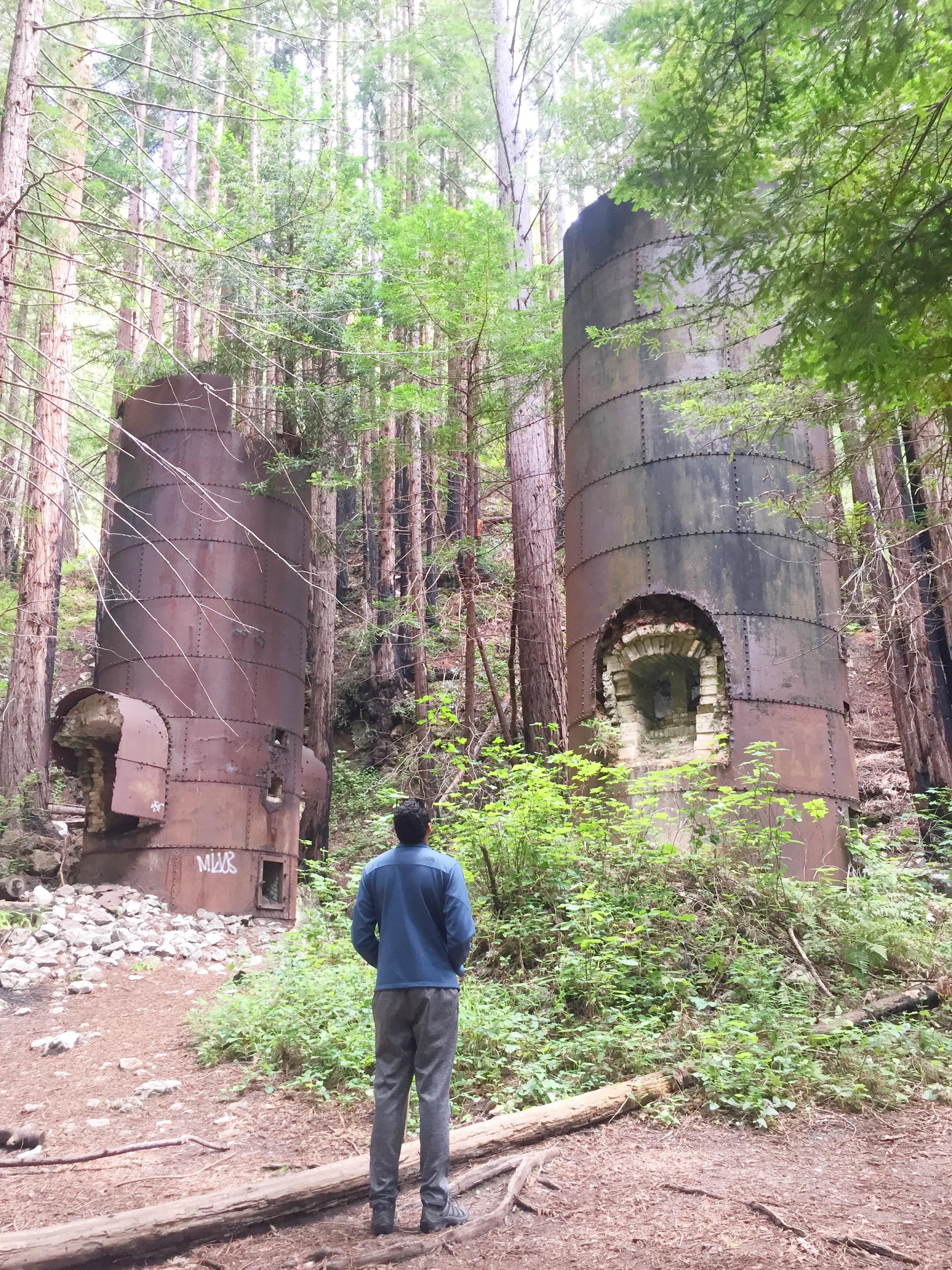 Limekiln State Park Big Sur Lime kilns