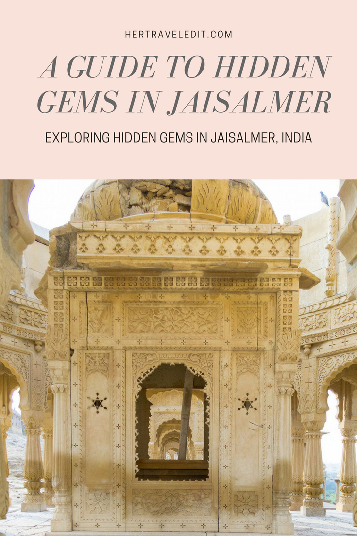 Exploring Hidden Gems in Jaisalmer