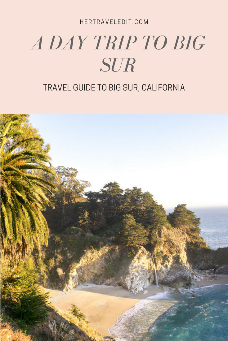 Day Trip to Big Sur from Carmel, California