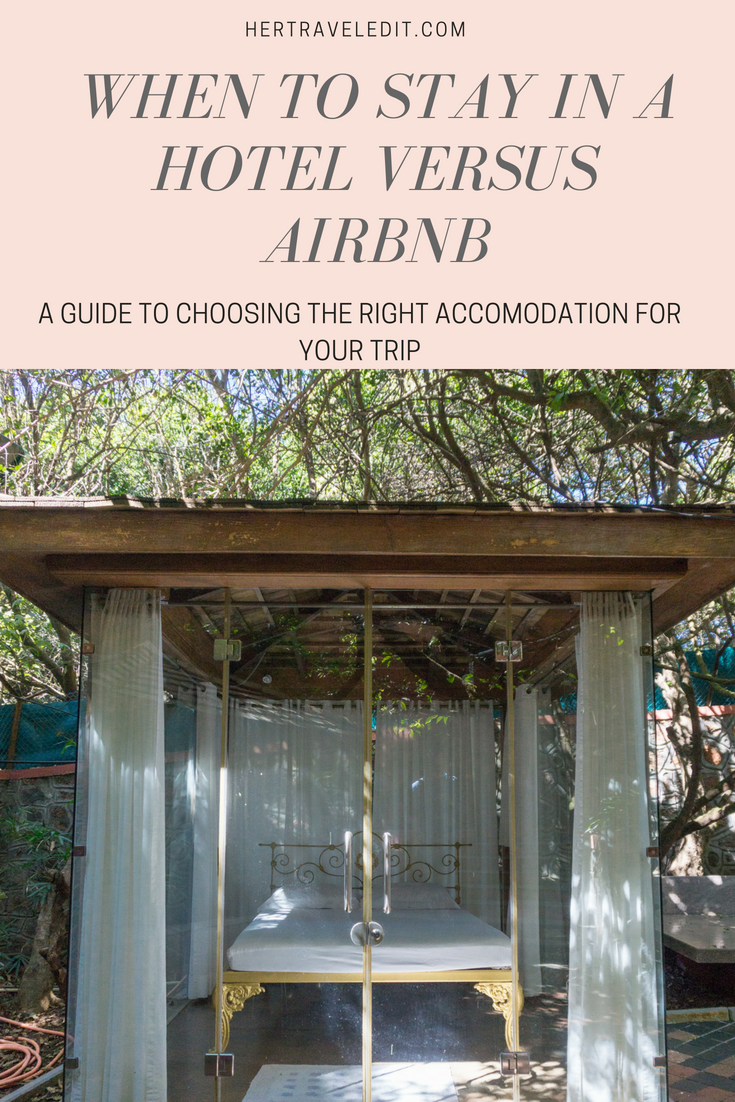 When to Choose an Airbnb and When to Choose a Hotel