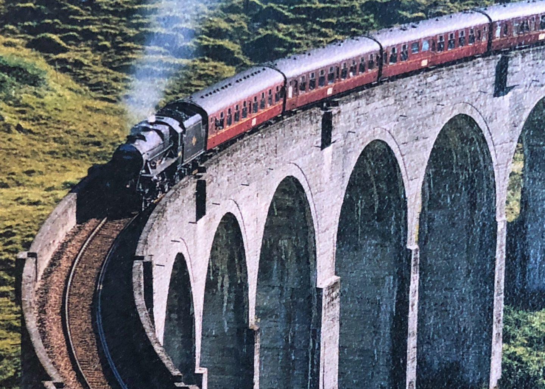 Jacobite Steam Train Glenfinnan Viaduct