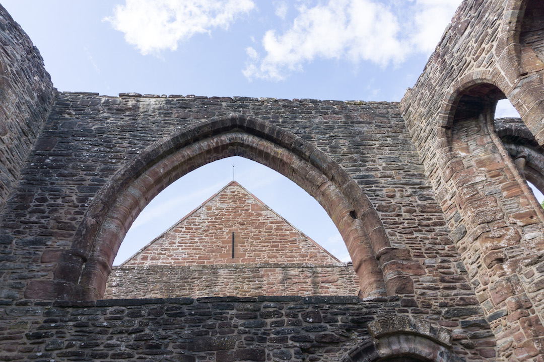 Beauly Priory Top View