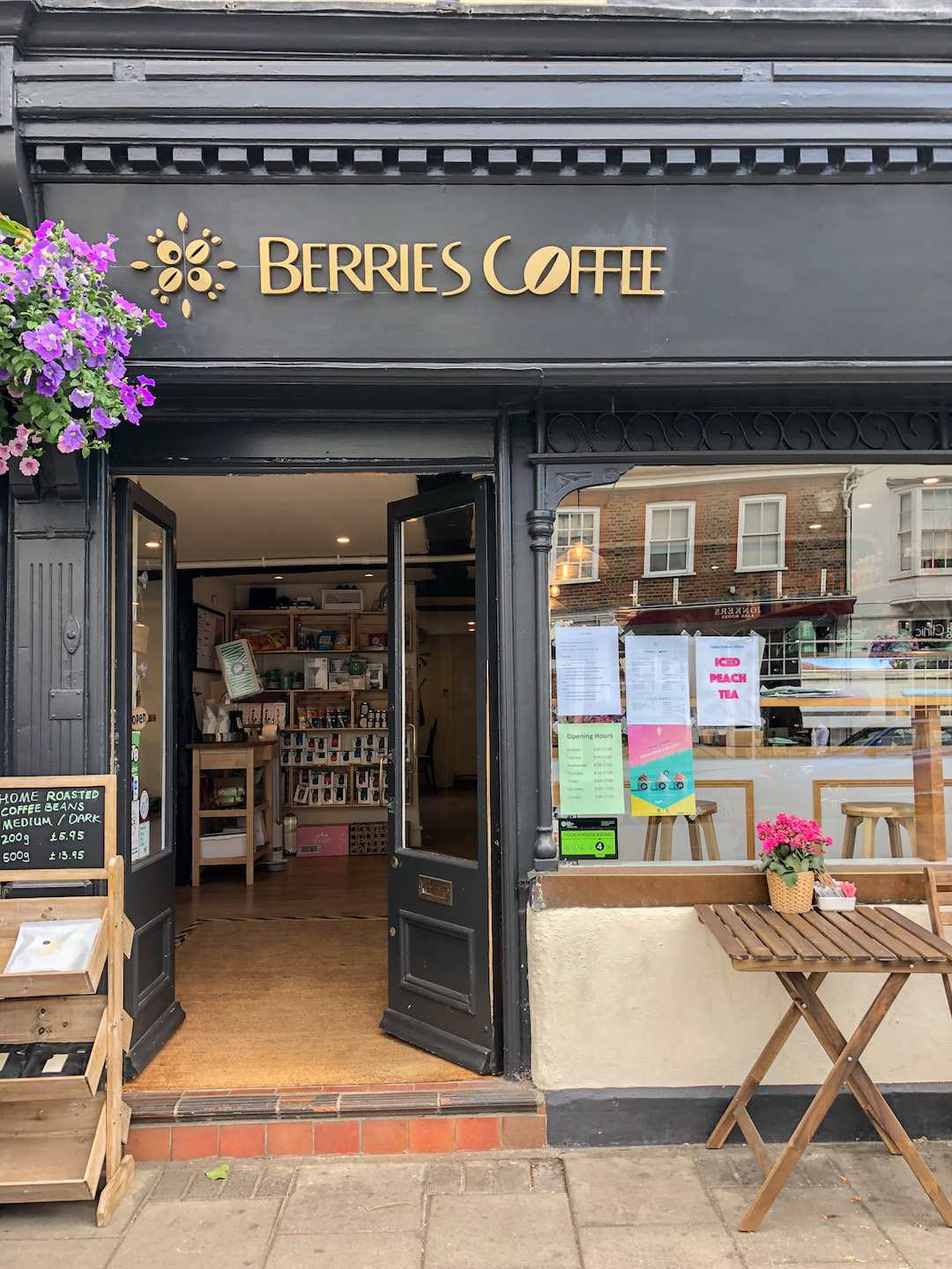 Berries Coffee, Henley on Thames