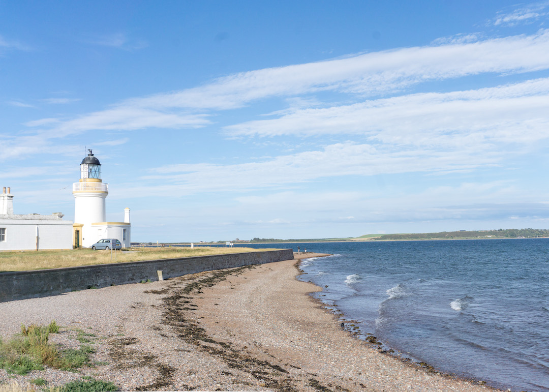 Chanonry Point Lighthouse View