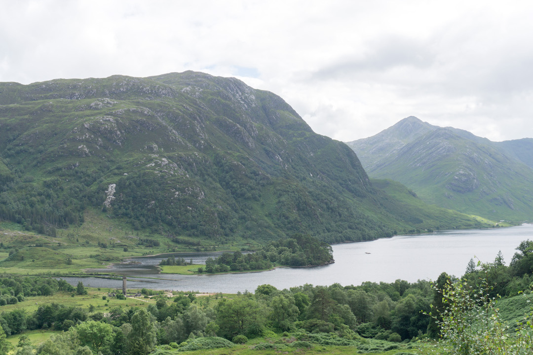 Lake View from the Glenfinnan Viaduct hike