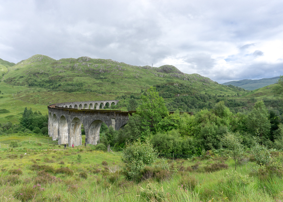 Glenfinnan Viaduct View from the top