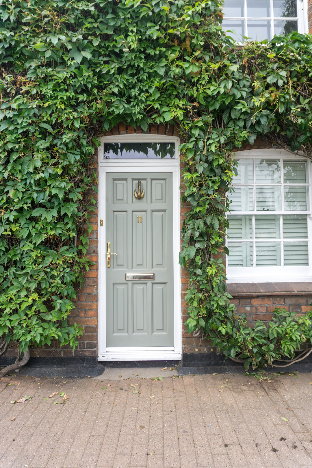 Green Door with Ivy, Henley on Thames