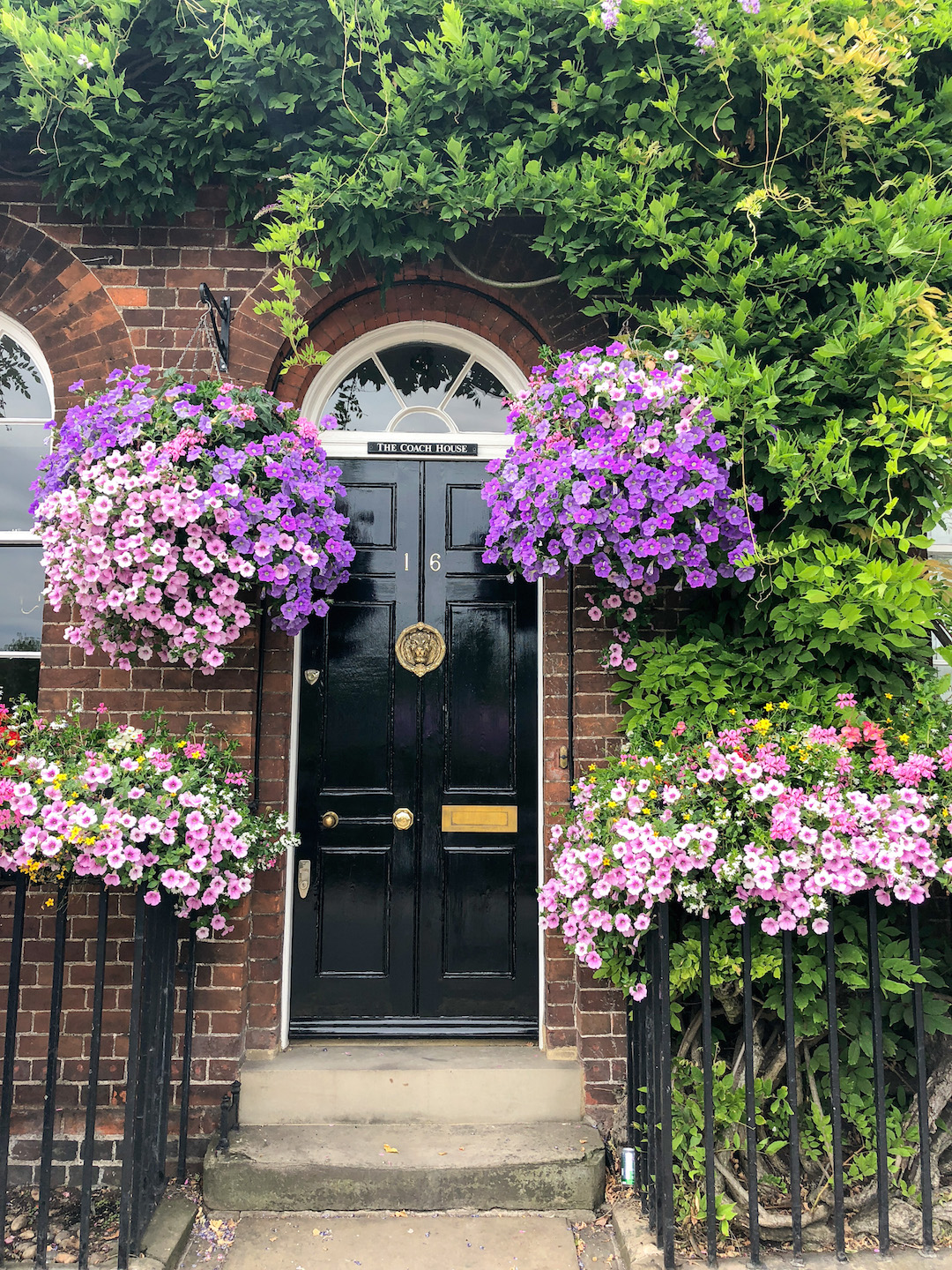 Floral Door, Henley on Thames