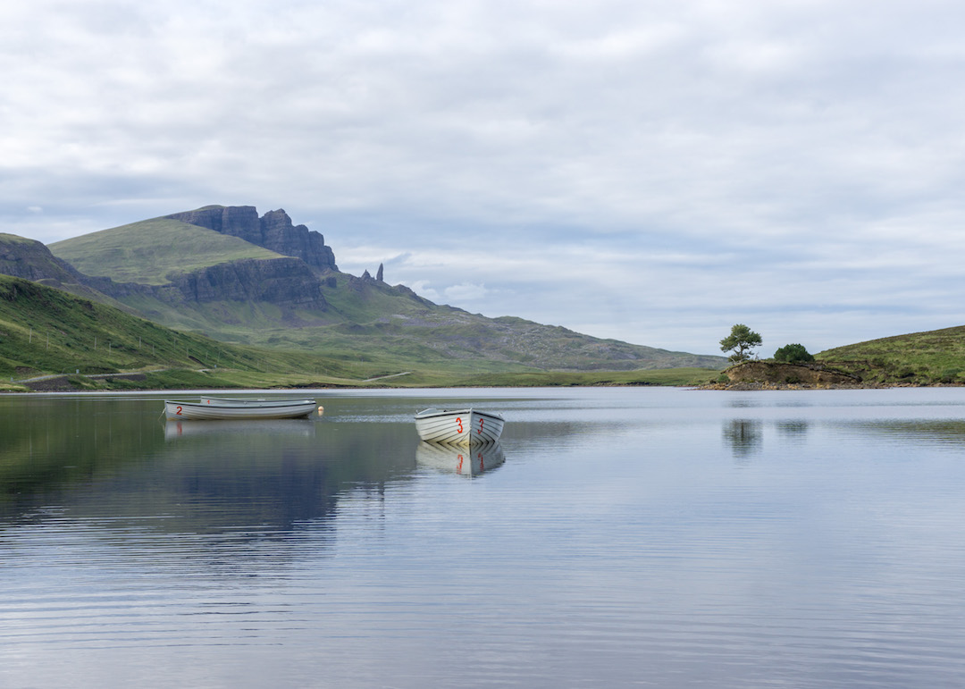 Isle of Skye Fishing Boats