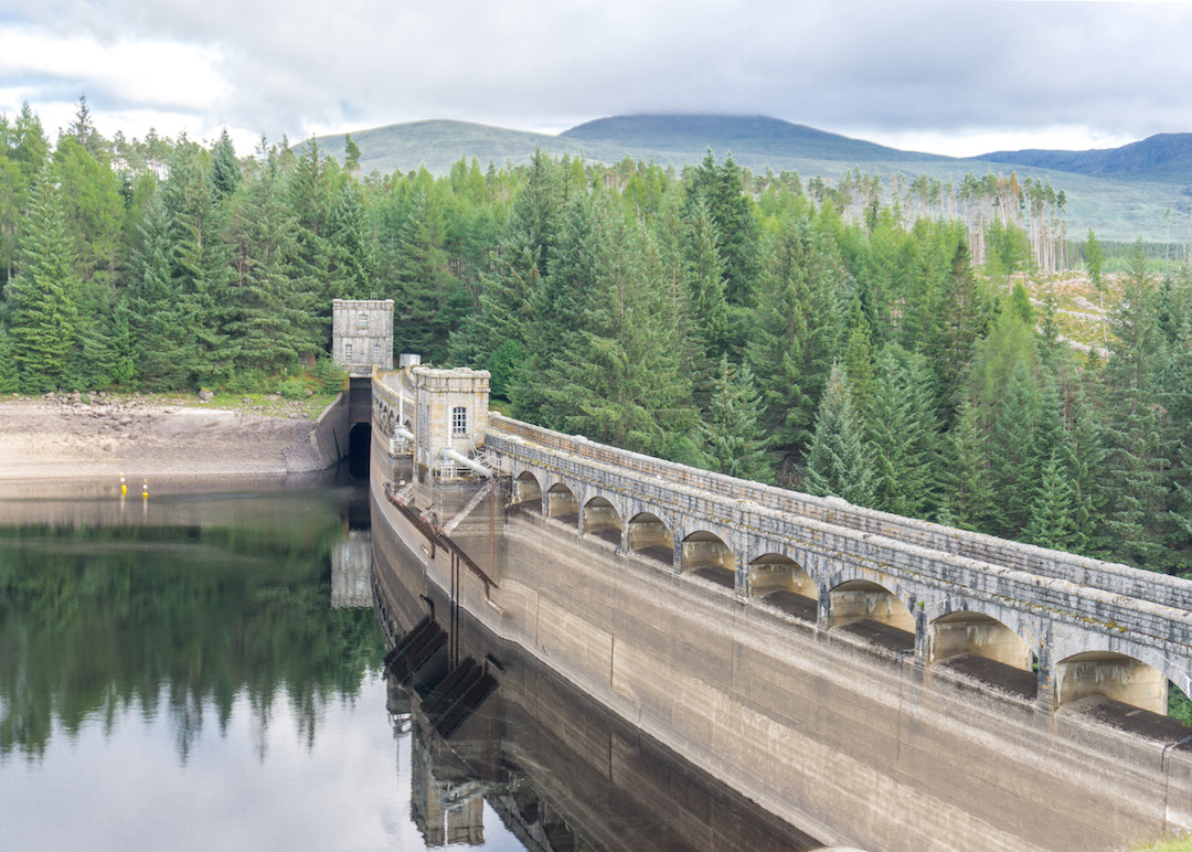 Laggan Dam Scotland