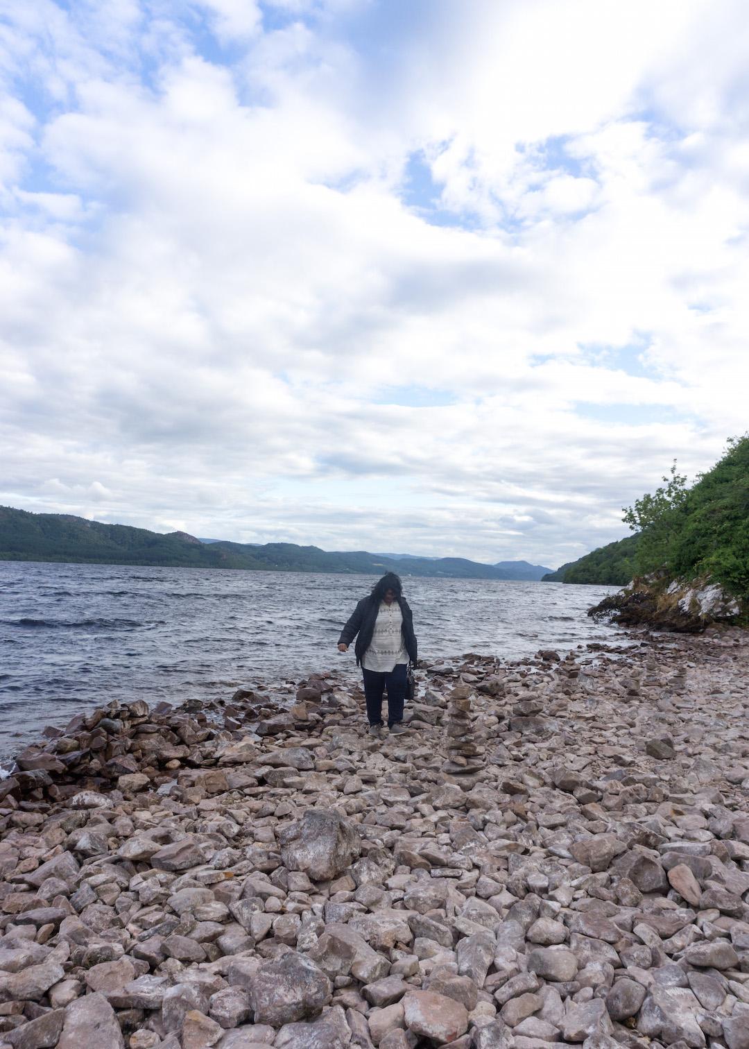 Banks of Loch Ness