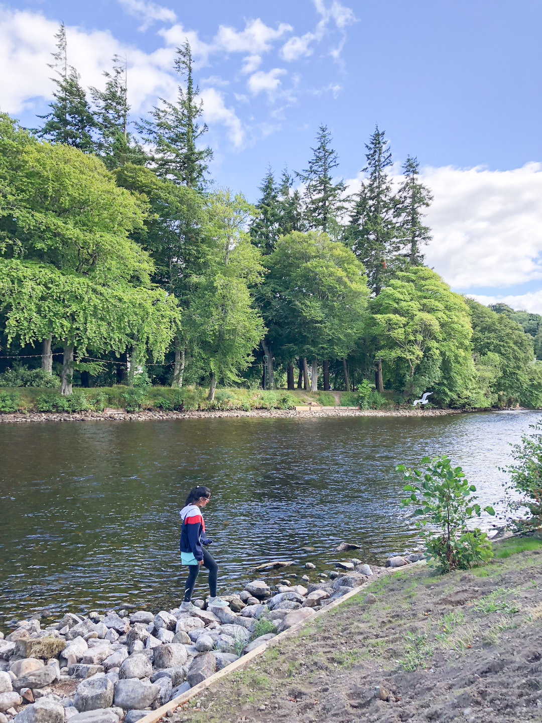Picnic by River Ness