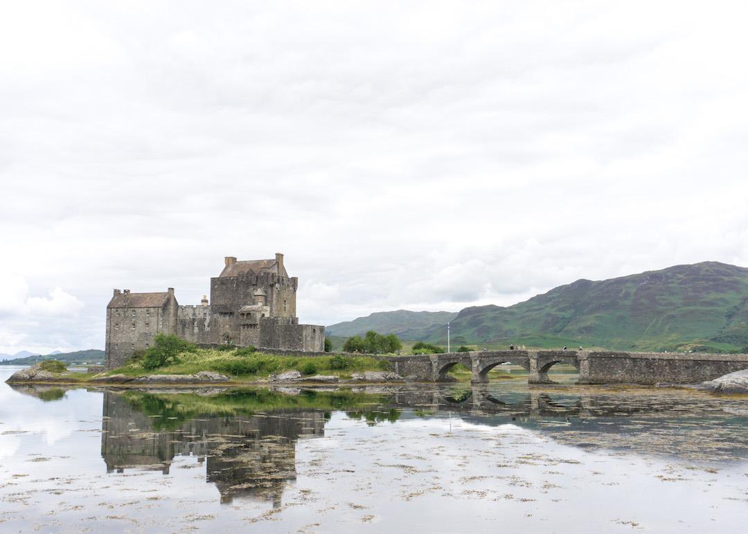 Eilean Donan, fairytale castle in Scotland