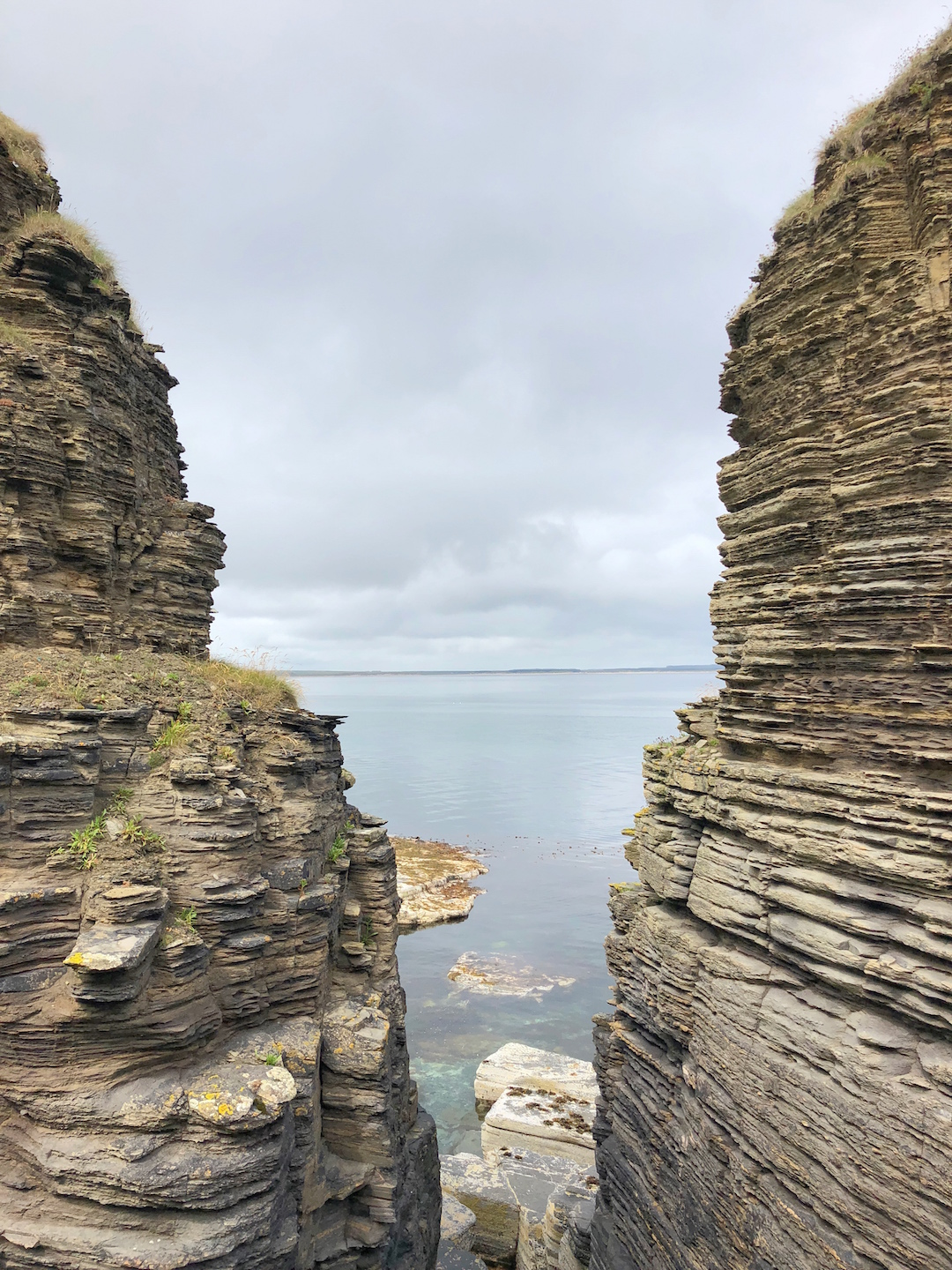 Cliffs in the Scottish Highlands