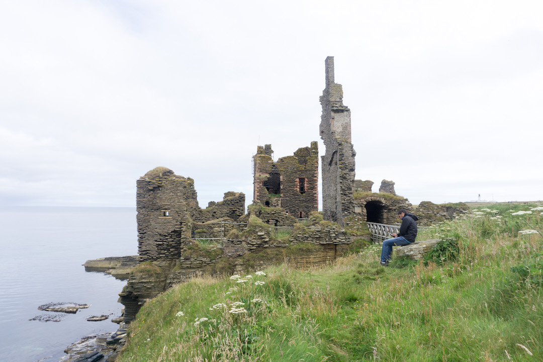 Sinclair Girnigoe Castle