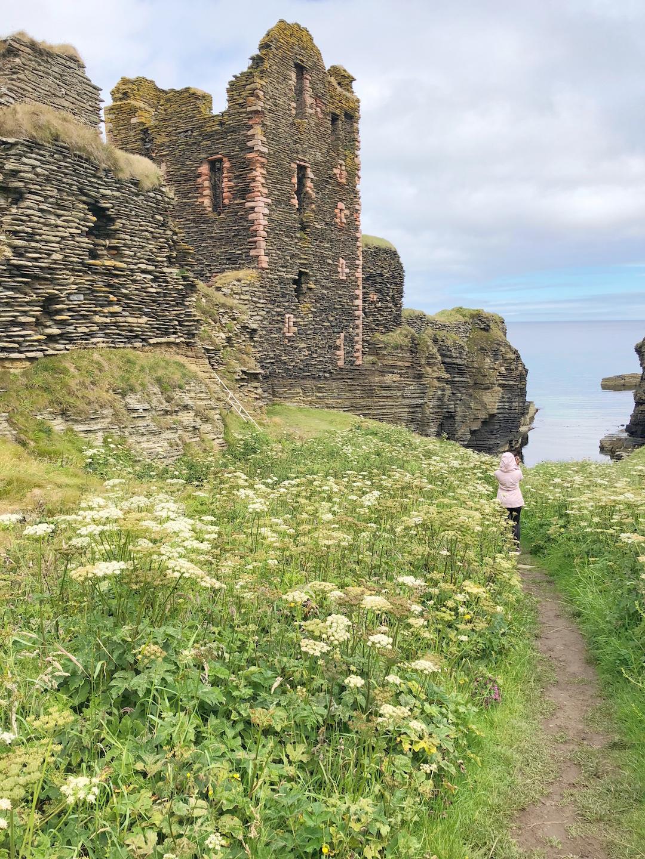 Sinclair Girnigoe Castle Cliff
