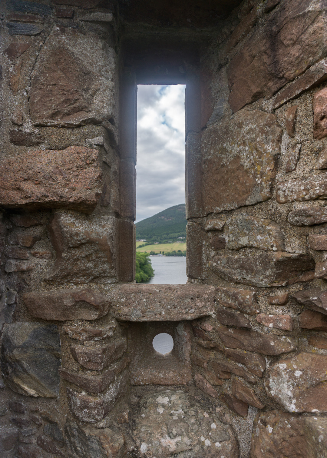 Urquhart Castle Window