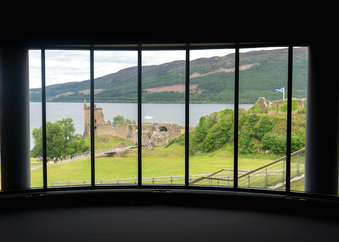 View of Urquhart Castle