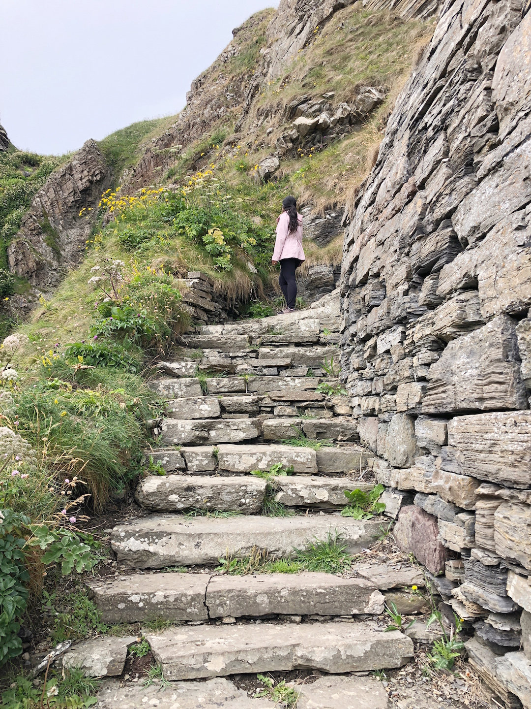 Her Travel Edit at the Whaligoe Steps
