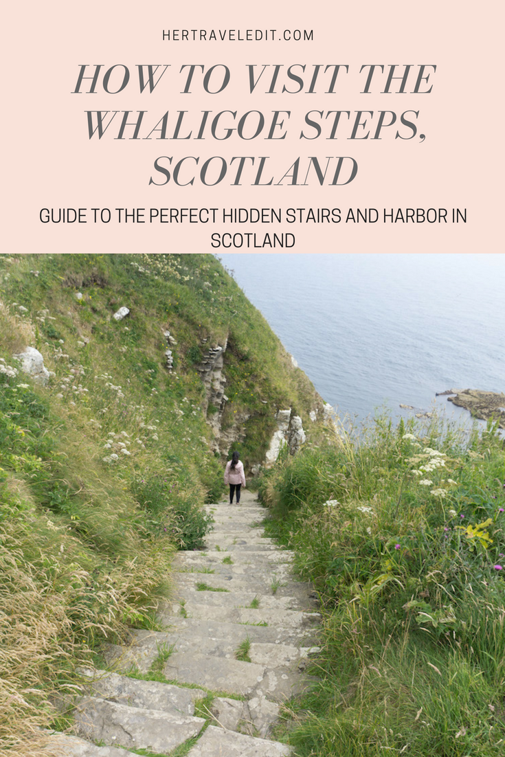 Why and How to Visit the Whaligoe Steps in Scotland - 330 stairs to a gorgeous hidden cove