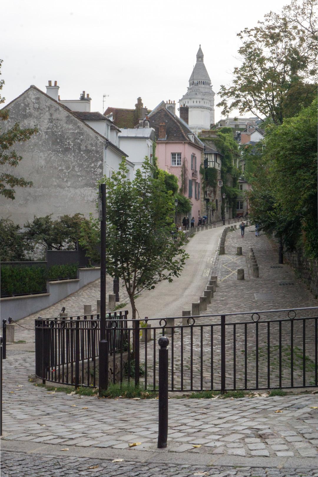 Montmarte Street Scene