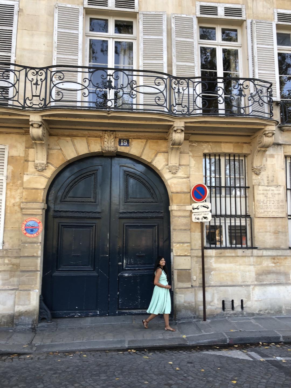 Ile Saint-Louis Door, Paris