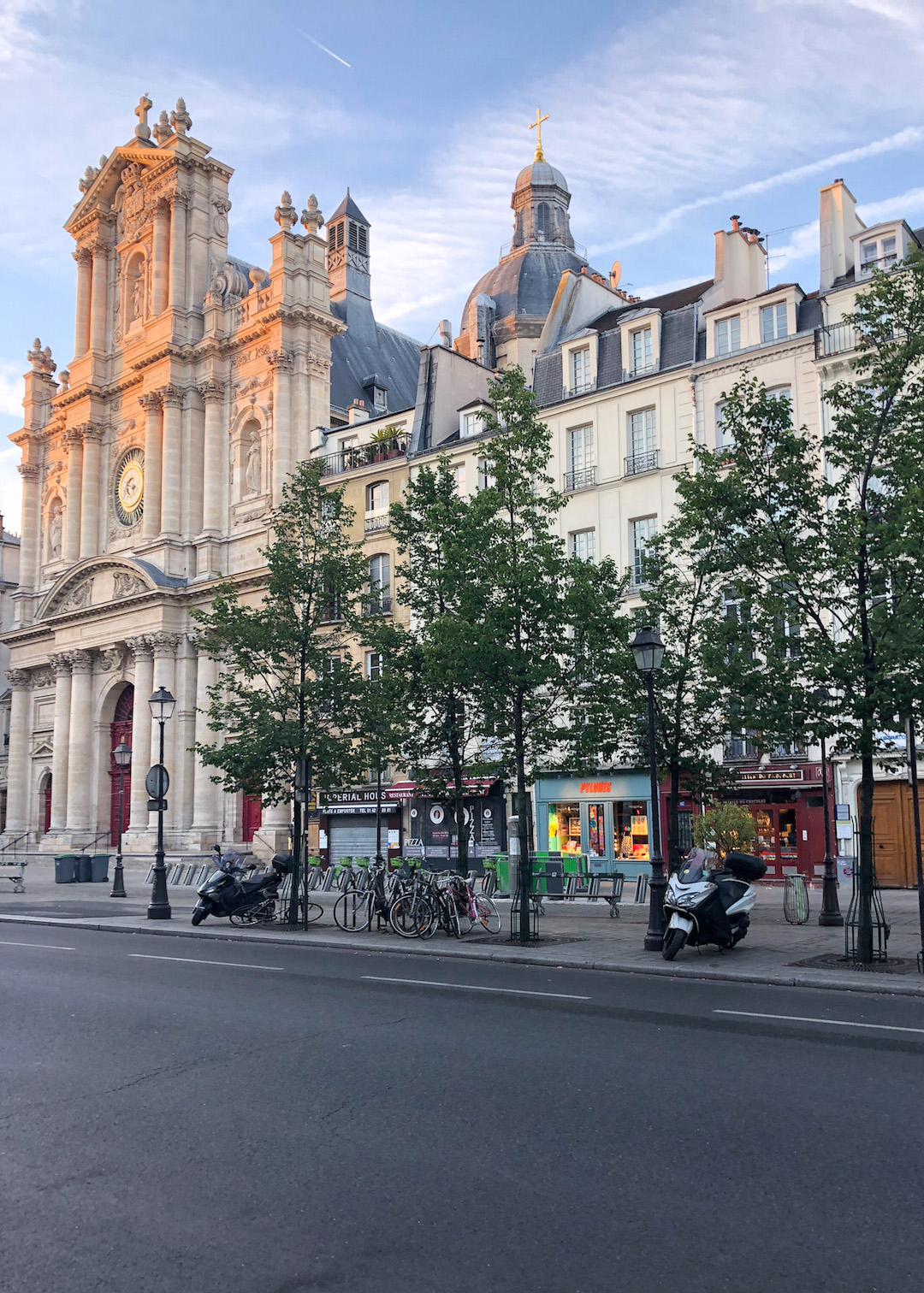 Morning Light on Le Marais Paris