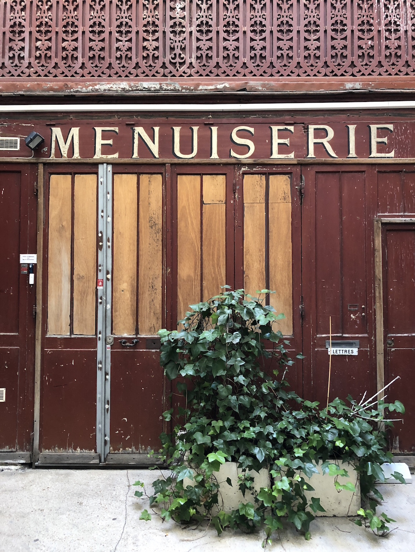 Le Marais Paris Doorway