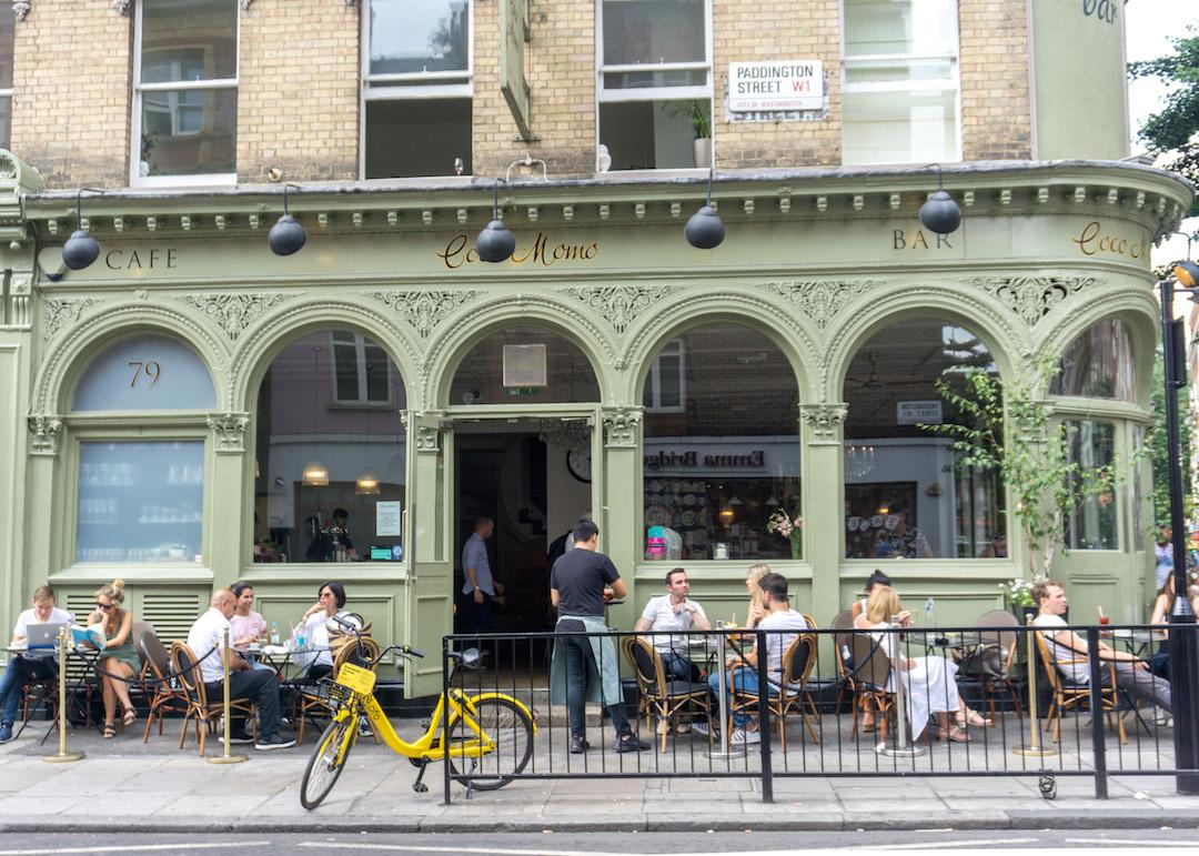 London Cafe in Marylebone