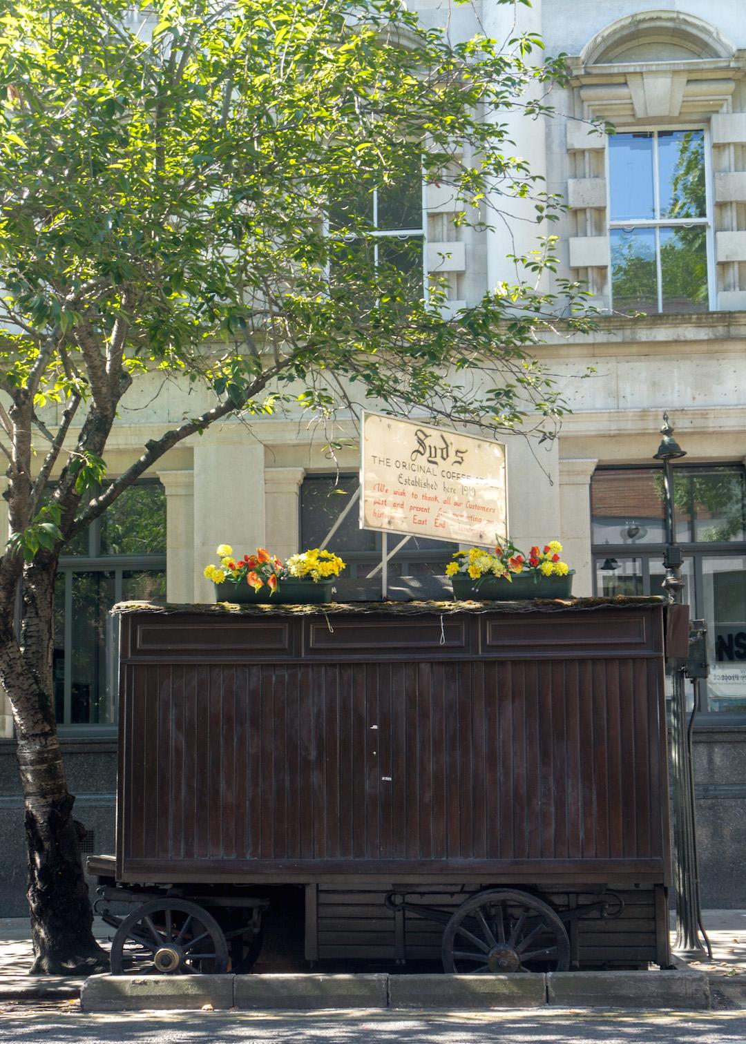London Coffee Cart