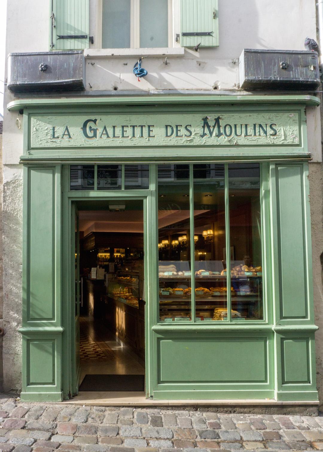 Montmarte Shop Facade