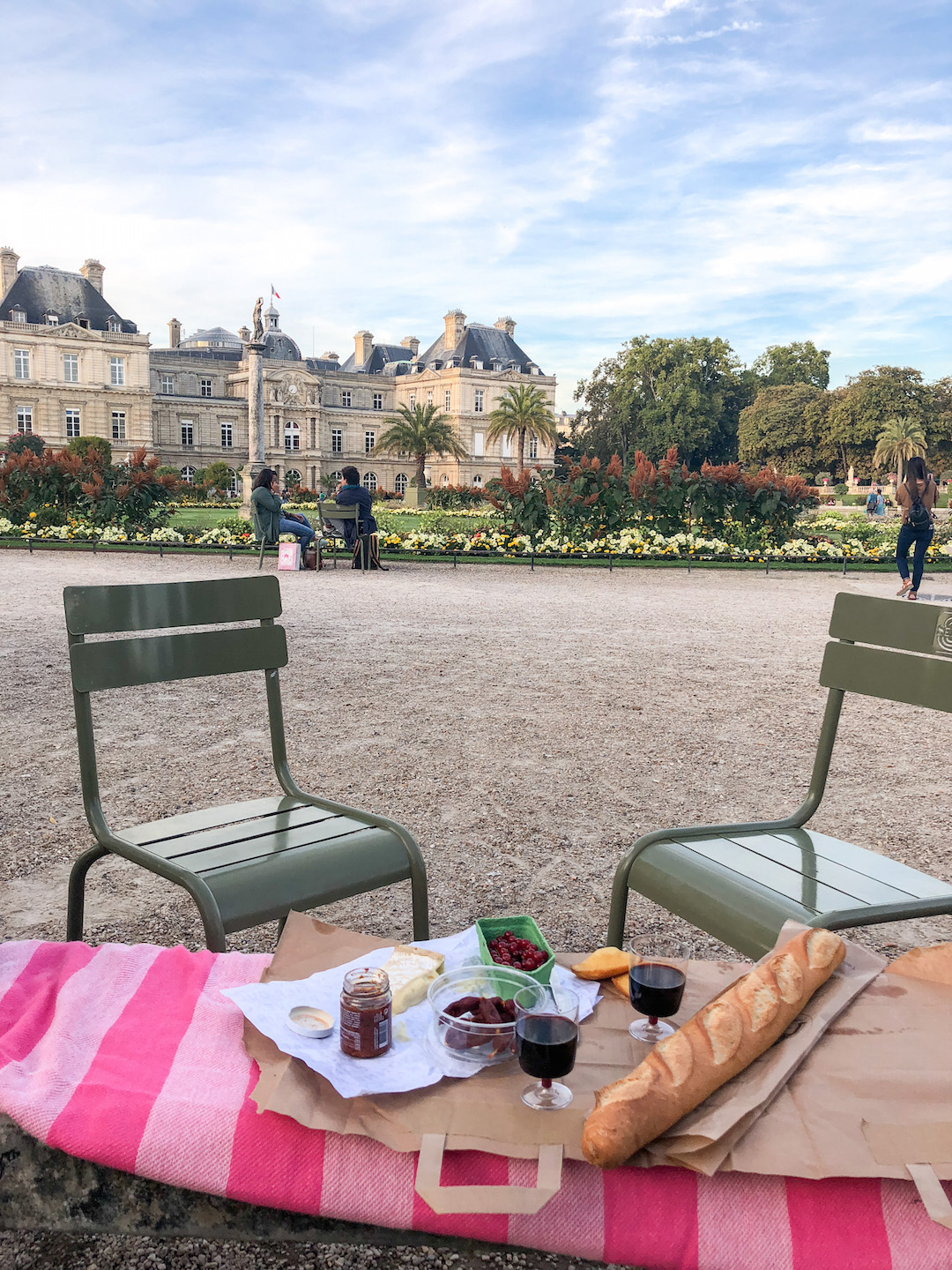 Picnic in the Jardin du Luxembourg
