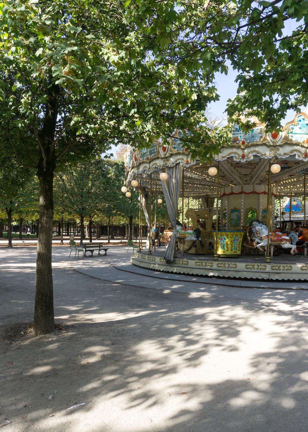 Tuileries Garden Carousel