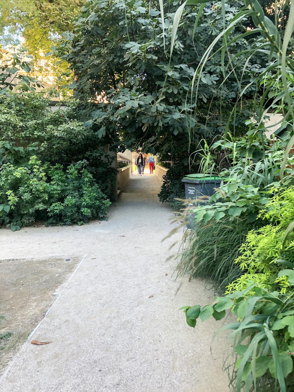 Secret Garden in Le Marais