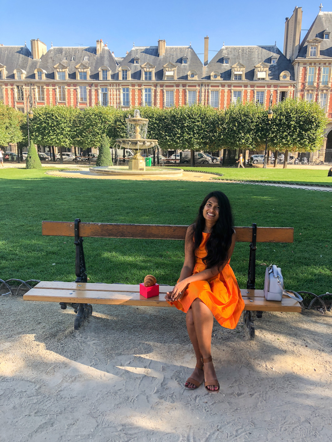 Her Travel Edit at Place des Vosges