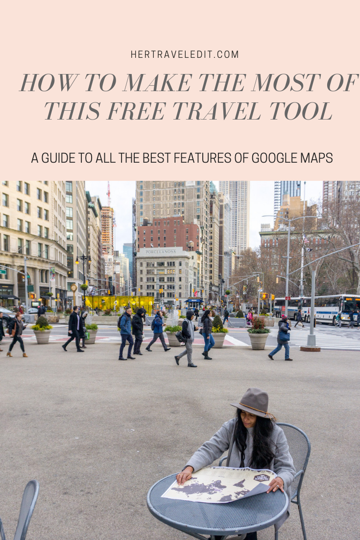 A User Guide to the best Travel Planning App - Google Maps