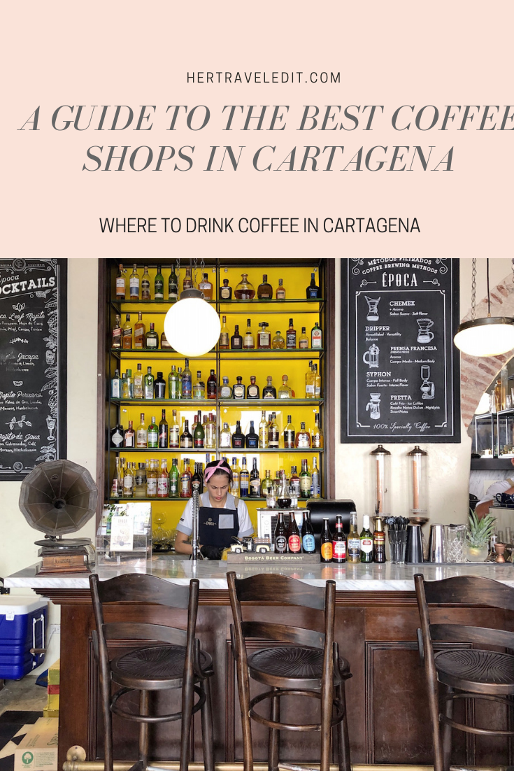 A Travel Guide to Two Perfect Days in Cartagena Colombia including the best coffee shops