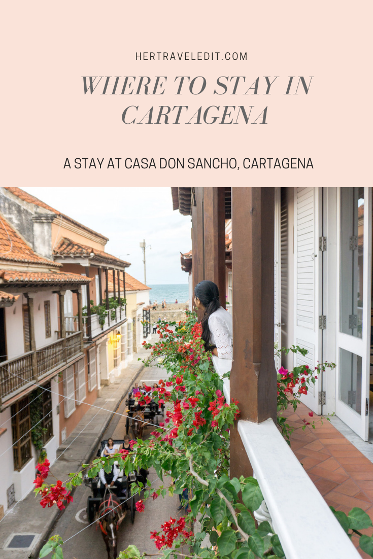 The best place to stay in Cartagena Colombia