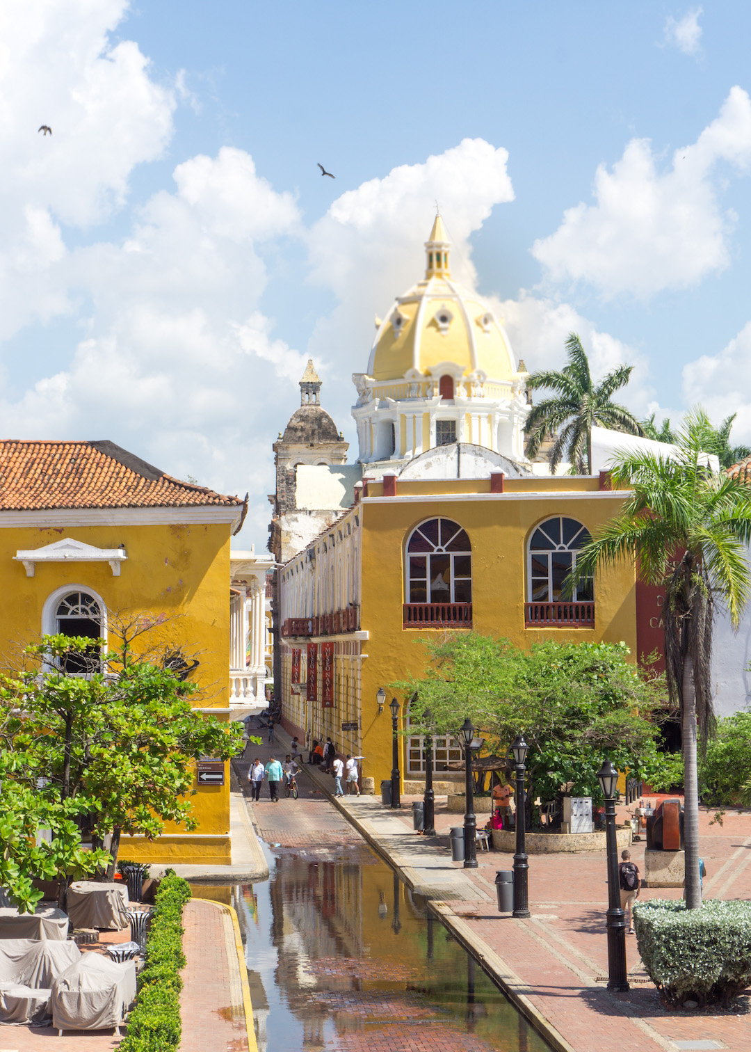 Cartagena Church View from Walls