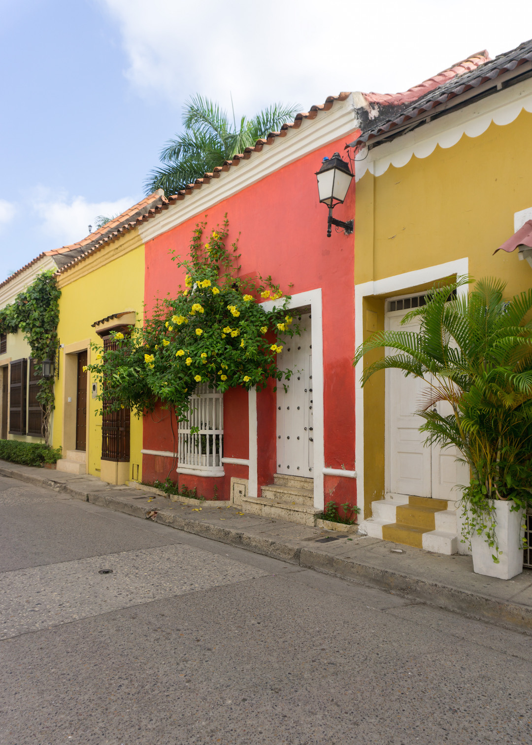 Colorful Houses in Getsemani Cartagena