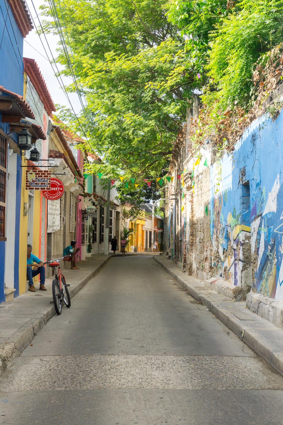 Cartagena Getsemani Streets