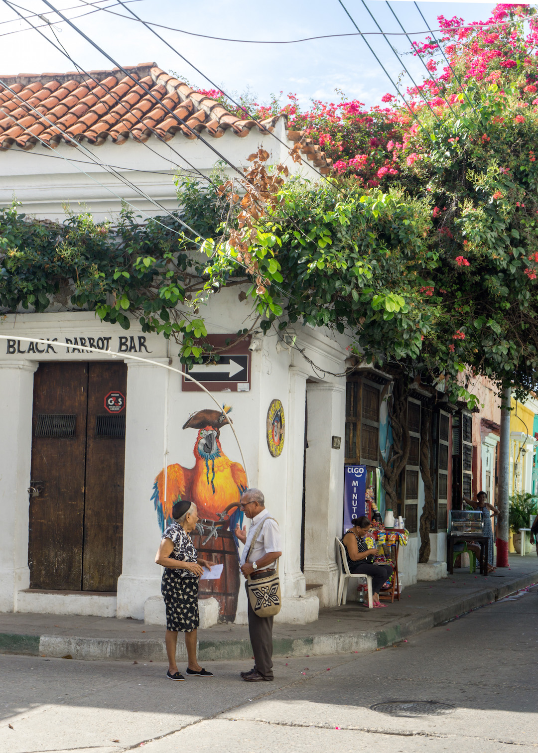 Local life in Getsemi Cartagena