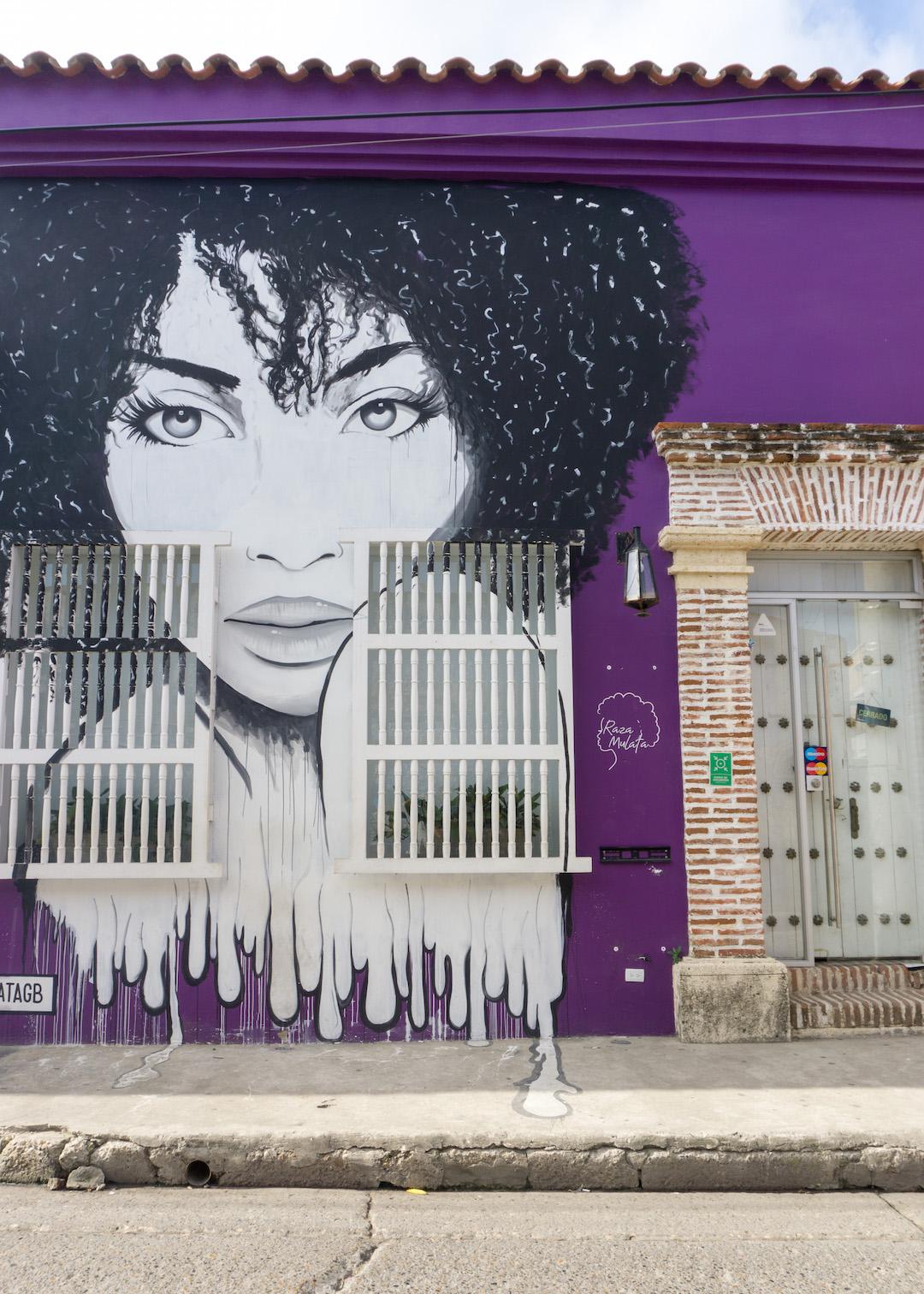Street Art in Getsemani Cartagena