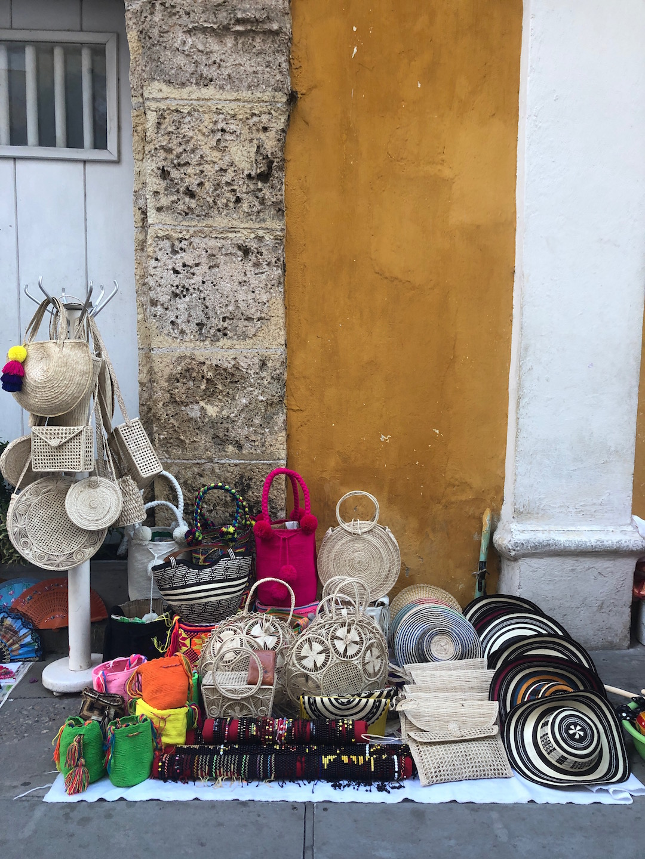 Street Shopping in Cartagena