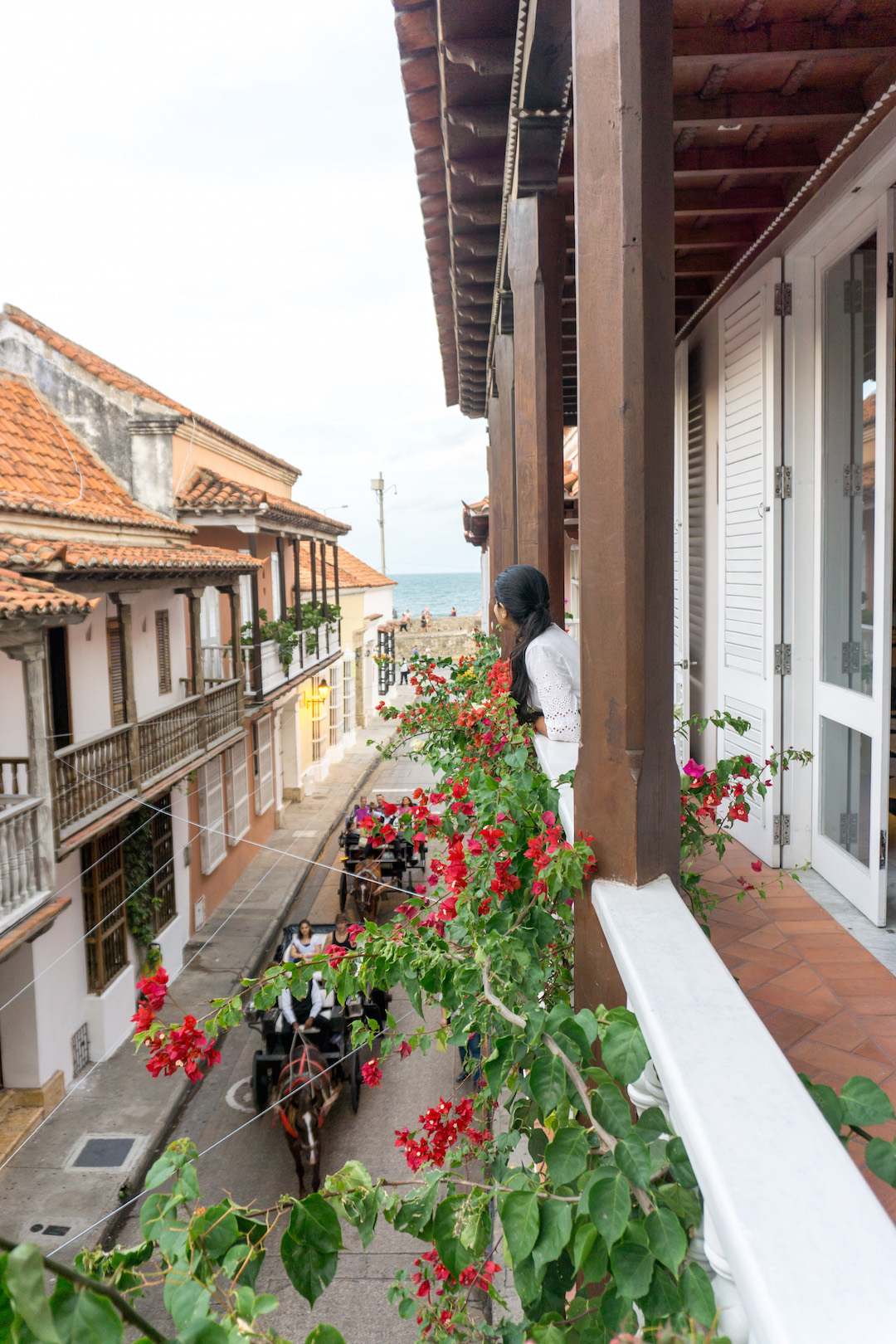 Balcony of Casa Don Sancho Cartagena
