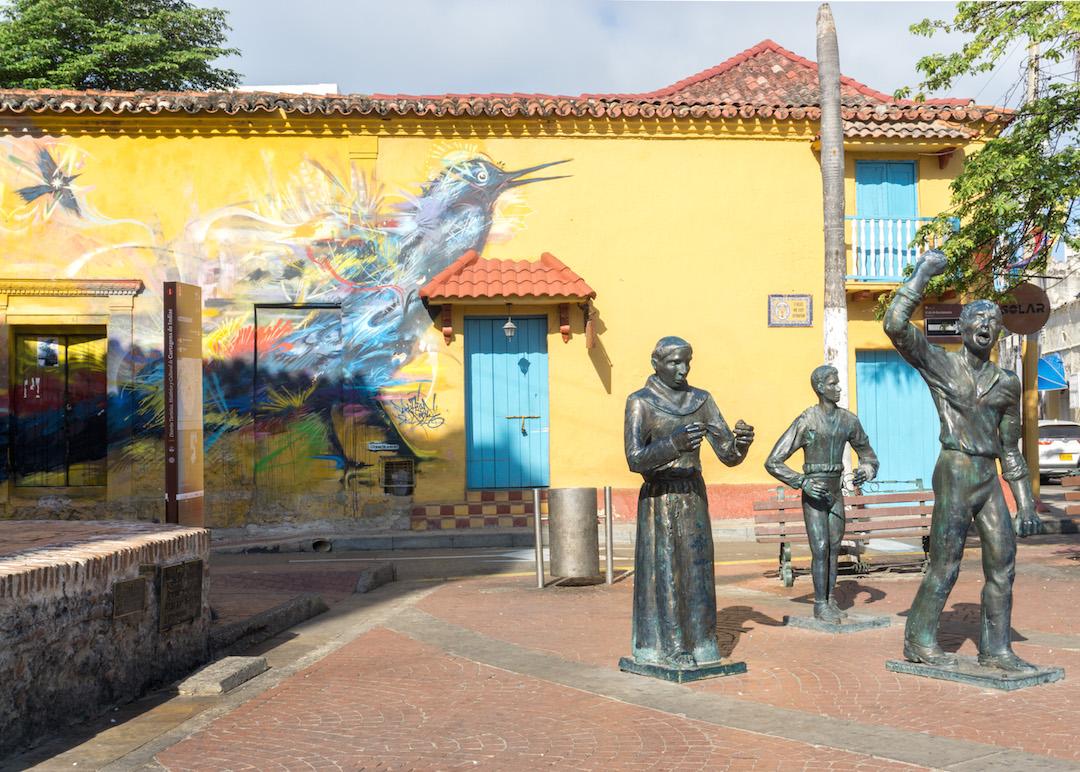 Getsemani Cartagena Trinidad Square
