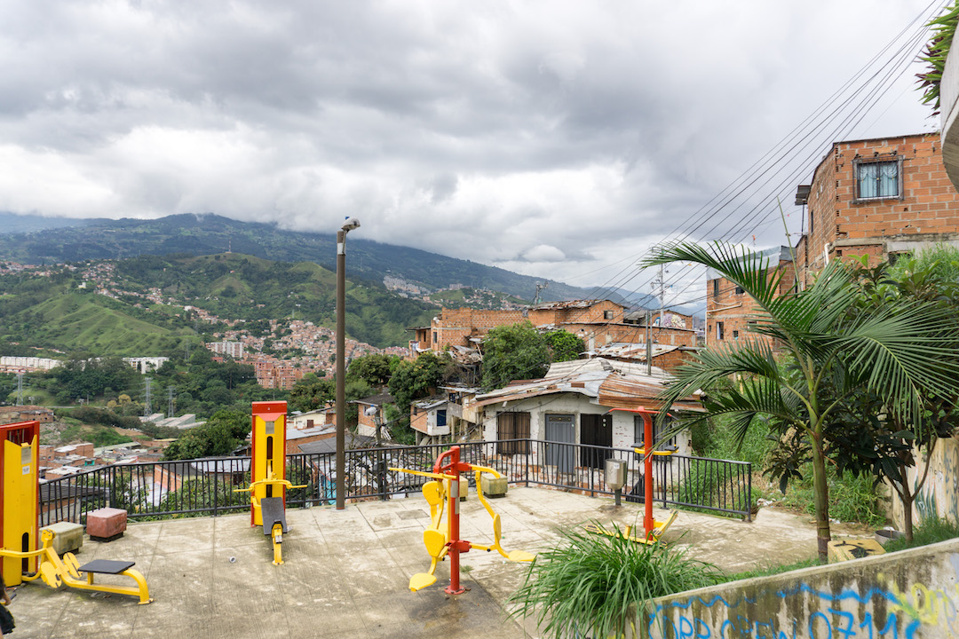 Outdoor Gym in Communa 13, Medellin