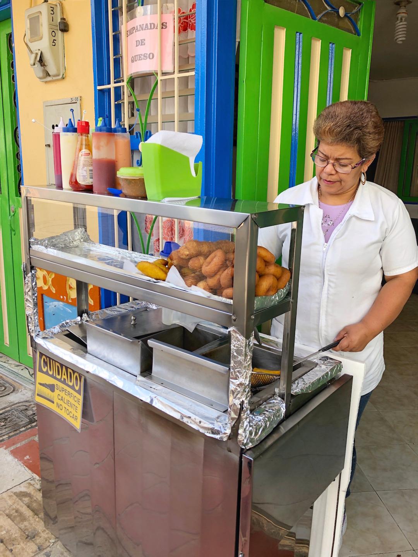 Guatape Empanada Stall